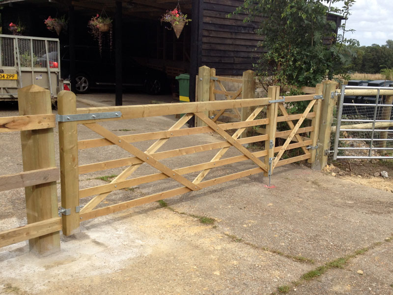 Timber farm gates p m tassell fencing
